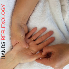 Hand Reflexology from Thrive Health Therapy